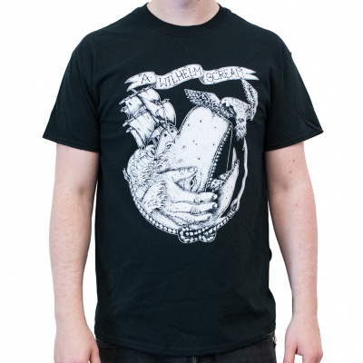 Cover A WILHELM SCREAM, whale (boy) black