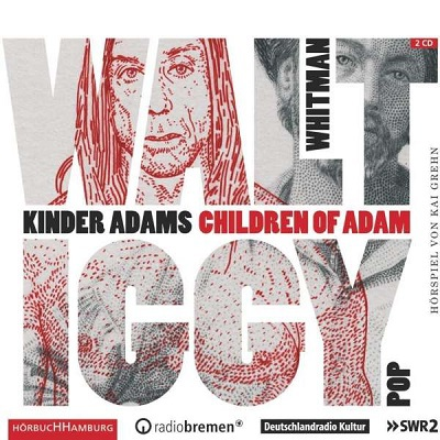 WALT WHITMAN, kinder adams / children of adam cover
