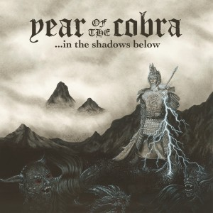 YEAR OF THE COBRA, ... in the shadows below cover