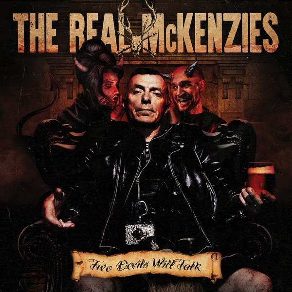 REAL MCKENZIES, two devils will talk cover