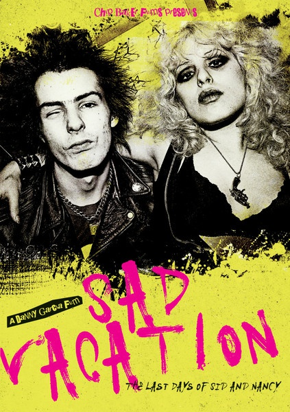 SID VICIOUS & NANCY SPUNGEN, sad vacation - the last days of sid & nancy cover
