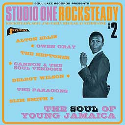 Cover V/A, studio one rocksteady 2