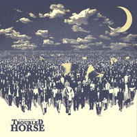 Cover TROUBLED HORSE, revolution on repeat