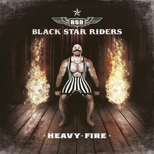 BLACK STAR RIDERS, heavy fire cover