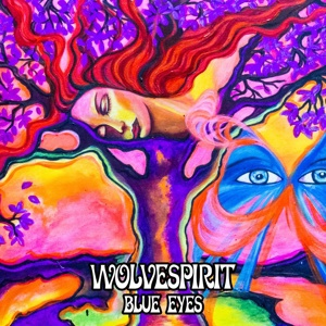 Cover WOLVESPIRIT, blue eyes