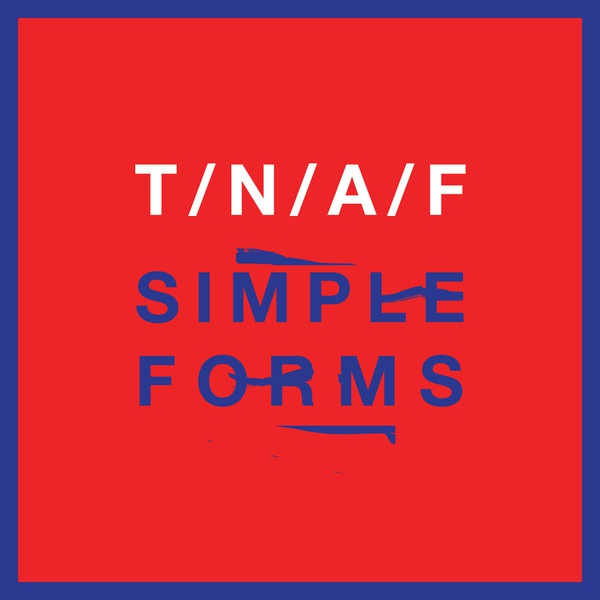 Cover NAKED AND FAMOUS, simple forms