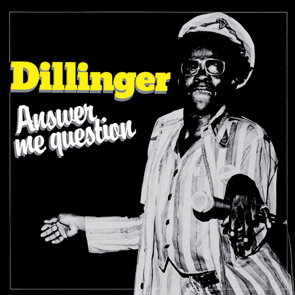 DILLINGER, answer me question cover