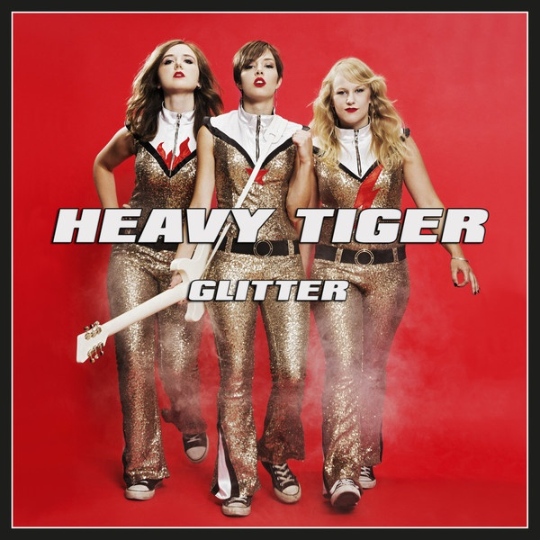Cover HEAVY TIGER, glitter