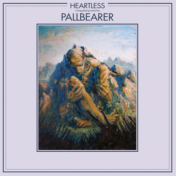 Cover PALLBEARER, heartless