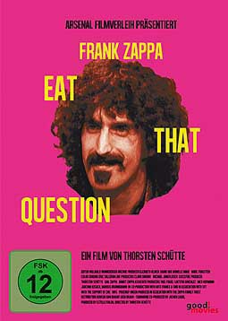 Cover FRANK ZAPPA, eat that question
