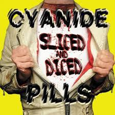 CYANIDE PILLS, sliced and diced cover