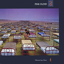Cover PINK FLOYD, a momentary lapse of reason