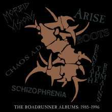 Cover SEPULTURA, the roadrunner albums 1985-96