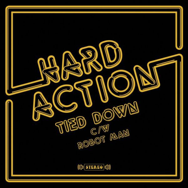 Cover HARD ACTION, tied down / robot man