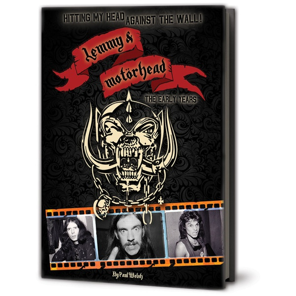 Cover PAUL WELSH, hitting my head against the wall:lemmy & motörhead
