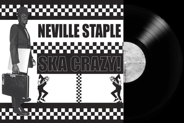 NEVILLE STAPLE, ska crazy! cover