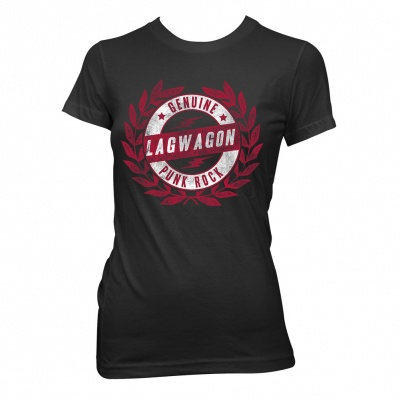 Cover LAGWAGON, crest (girl) black