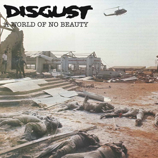 DISGUST, a world of no beauty cover