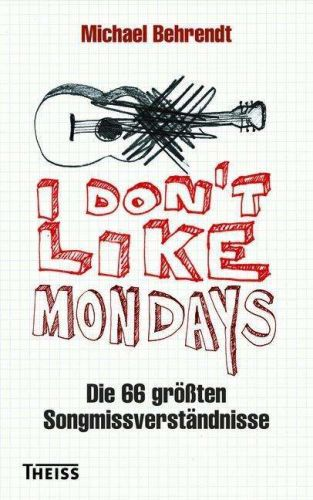 MICHAEL BEHRENDT, i don´t like mondays cover