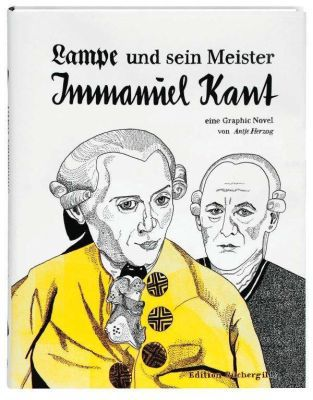 ANTJE HERZOG, lampe und sein meister immanuel kant cover