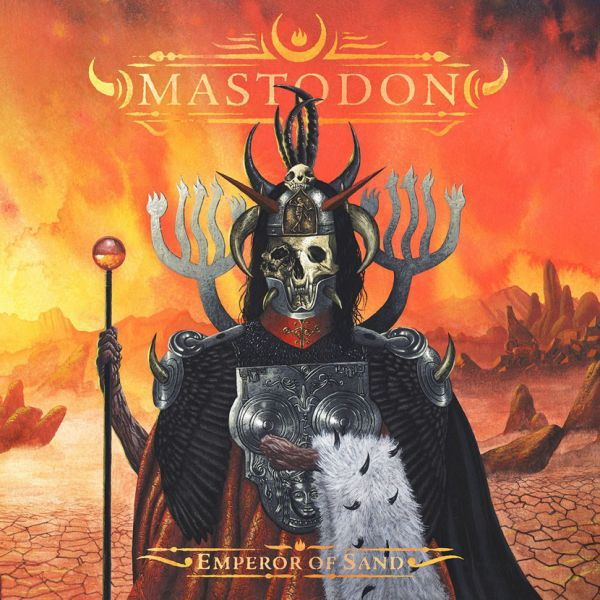 Cover MASTODON, emperor of sand