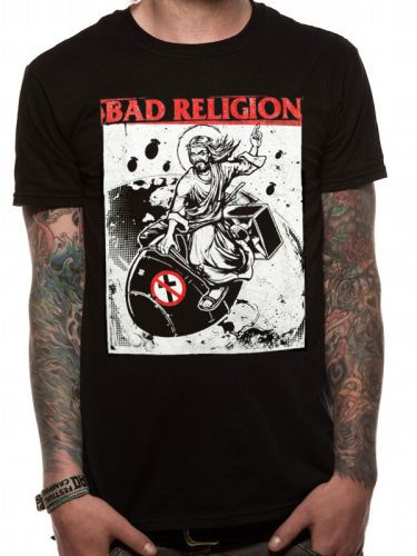 Cover BAD RELIGION, bomb rider (boy) black