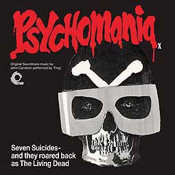 Cover O.S.T., psychomania (aka the death wheelers)