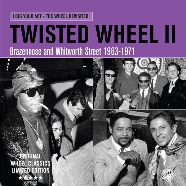V/A, twisted wheel II cover