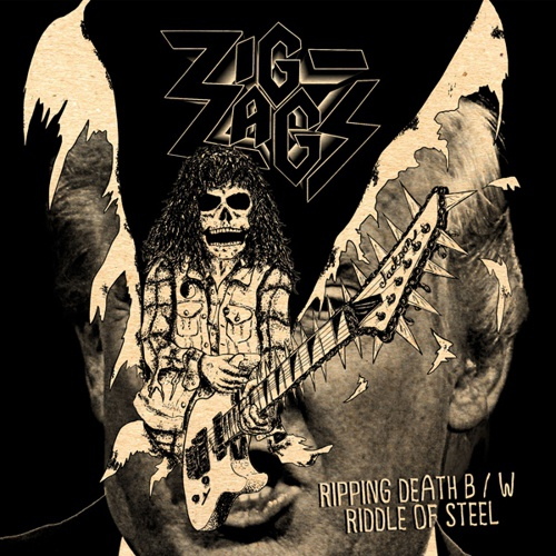 Cover ZIG ZAGS, ripping death