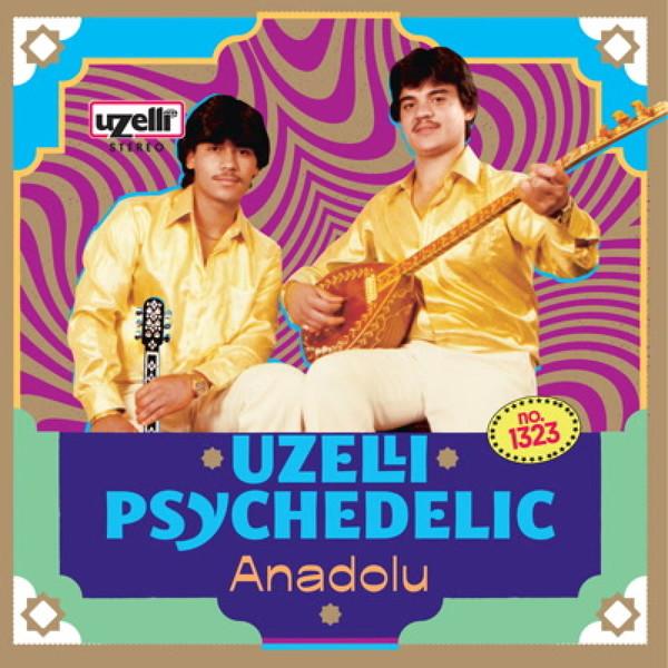 V/A, uzelli psychedelic anadolu cover