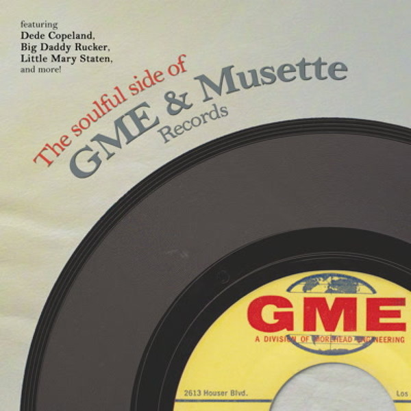 V/A, soulful side of gme & musette records cover