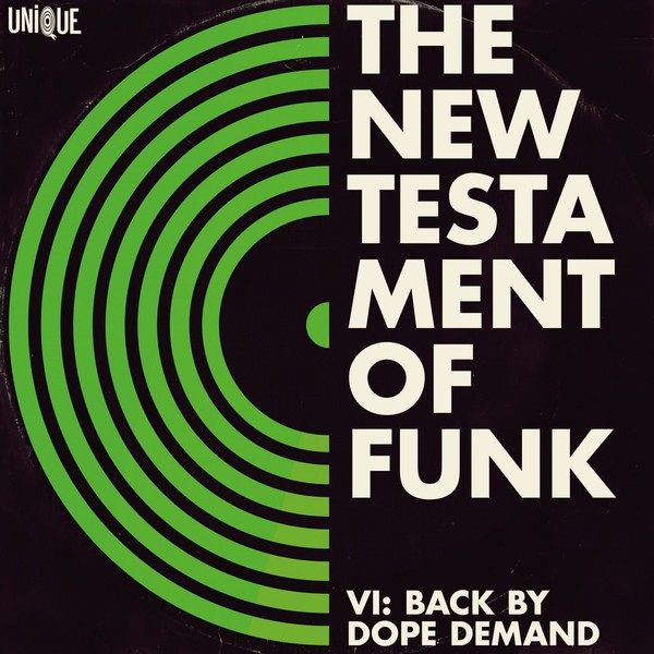 Cover V/A, new testament of funk vol. 6