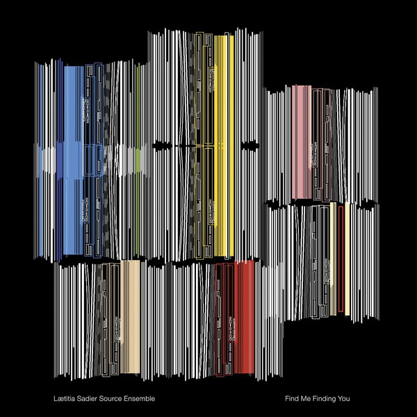 Cover LAETITIA SADIER SOURCE ENSEMBLE, find me founding you