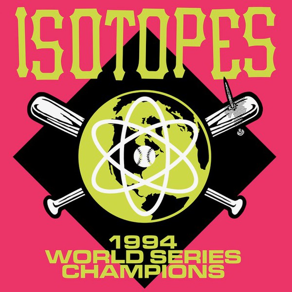 Cover ISOTOPES, 1994 world champion