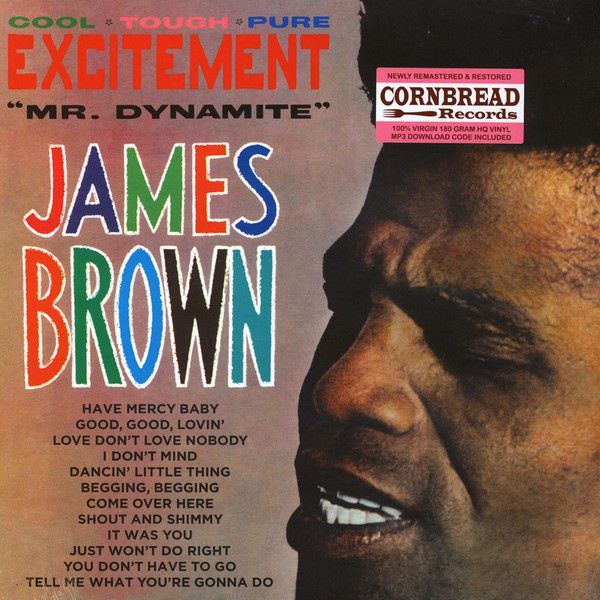 Cover JAMES BROWN, mr. dynamite