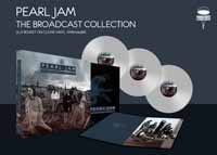 PEARL JAM, broadcast collection cover