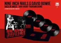 Cover NINE INCH NAILS WITH DAVID BOWIE, the 1995 radio transmissions - st. louis 1995