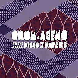 ONOM AGEMO AND THE DISCO JUMPERS, liquid love cover