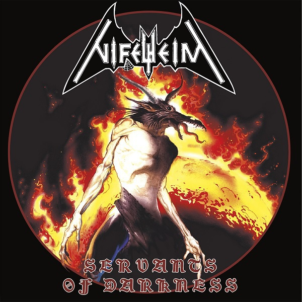 NIFELHEIM, servants of darkness cover