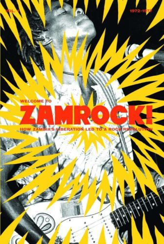 EOTHEN ALAPATT, welcome to zamrock! vol. 01 cover