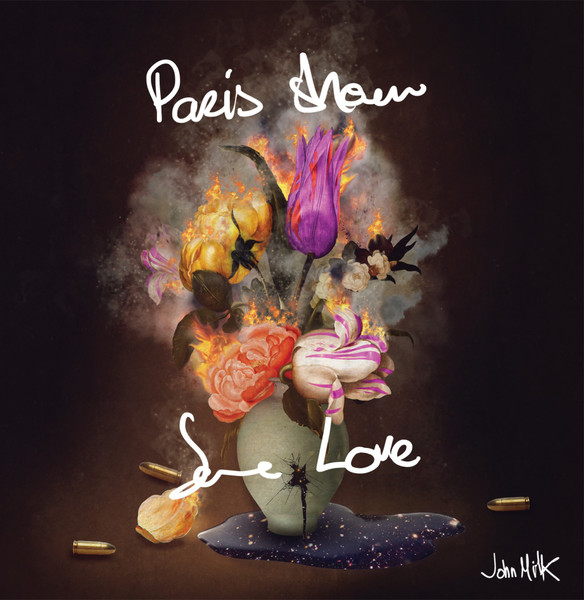 Cover JOHN MILK, paris show some love