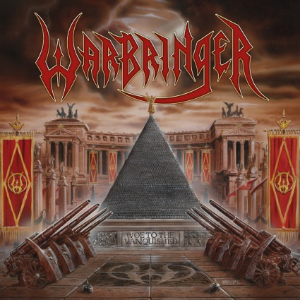 WARBRINGER, woe to the vanquished cover