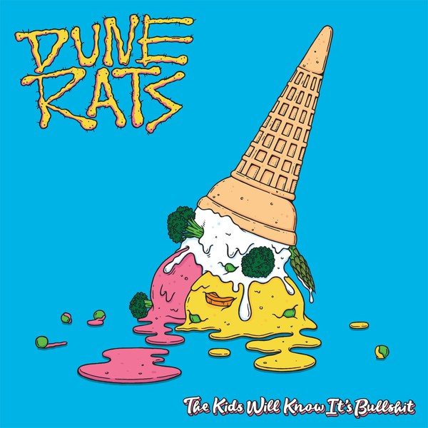 Cover DUNE RATS, the kids will know it´s bullshit