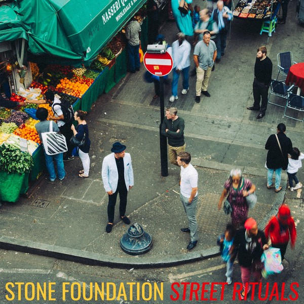 Cover STONE FOUNDATION, street rituals