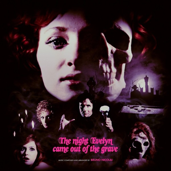 Cover O.S.T./BRUNO NICOLAI, the night evelyn came out of the grave