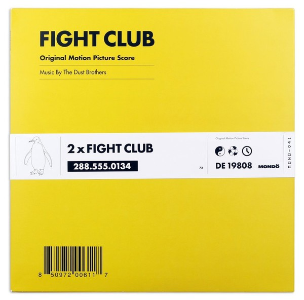 Cover O.S.T./DUST BROTHERS, fight club