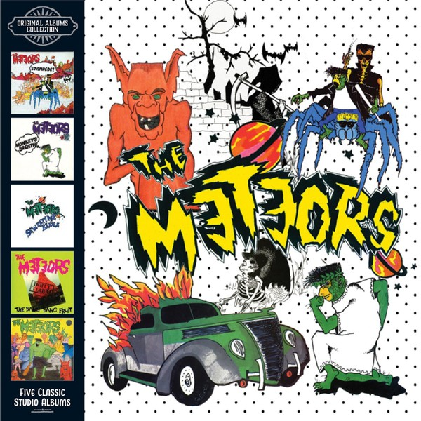 Cover METEORS, original album collection - 5 classic albums