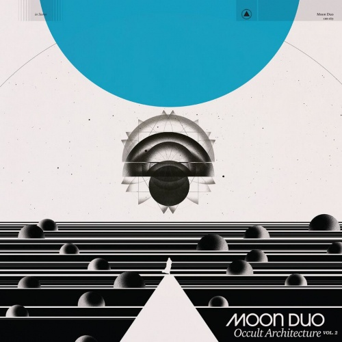MOON DUO, occult architecture vol. 2 cover