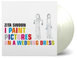Cover ZITA SWOON, i paint pictures on a wedding dress
