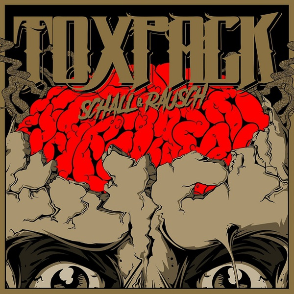 Cover TOXPACK, schall und rauch